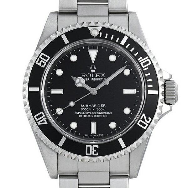 ROLEX メンズ腕時計 サブマリーナノンデイト 14060M ブラック文字盤 V番 中古 入荷!