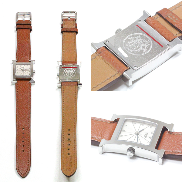 [エルメス]HERMES レディース腕時計 Hウォッチ