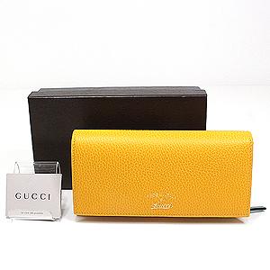 新商品アップしました!GUCCI 黄色の財布で金運UP!