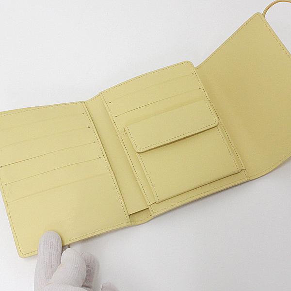 買取速報 ルイヴィトン エピ ポルトフォイユエラスティック M6346A 中古S 黄色