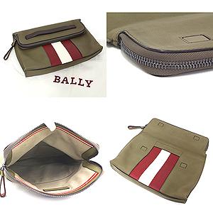 商品アップしました!バリー BALLY メンズ クラッチバッグ