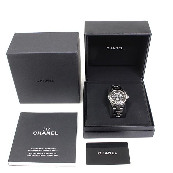 商品アップしました!CHANEL J12黒 12Pダイヤ メンズ