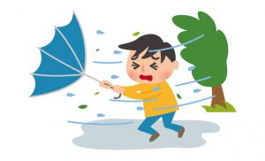 営業時間変更 台風
