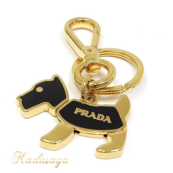 商品アップしました!PRADA キーホルダー&キーリング DOGチャーム
