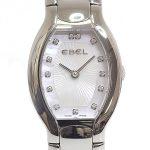 EBEL エベル レディース腕時計 ベルーガ 9656G21 シルバー文字盤 13Pダイヤ 新品同様