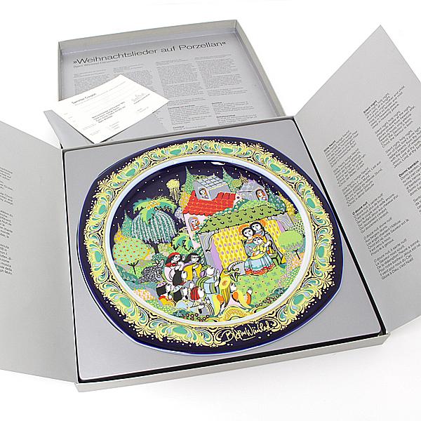 商品アップしました!ローゼンタール Xmas 聖なる夜のステキな絵皿