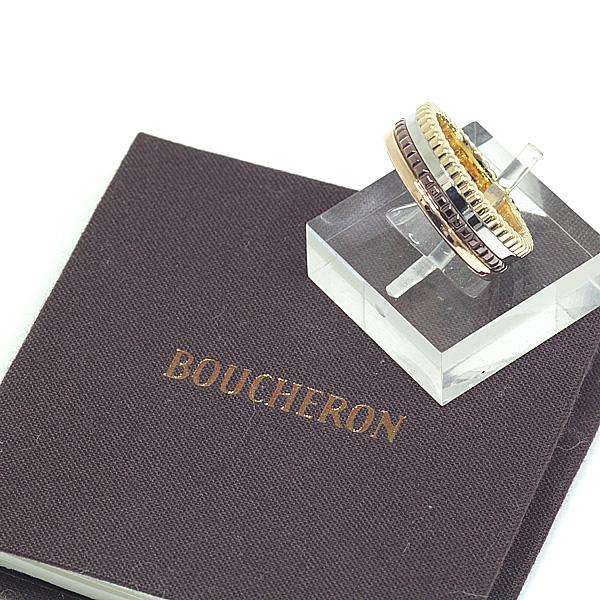 商品アップしました!BOUCHERON ブシュロン キャトル クラシック リング