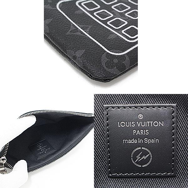商品アップしました!ルイヴィトン iphoneポーチ リストレット モノグラムエクリプス M64433