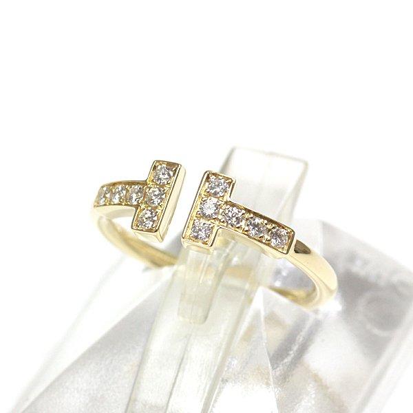 大人気のTIFFANY&Co. ティファニー T ダイヤモンド ワイヤー リング 入荷致しました!仕上げ済みの綺麗な状態です♬