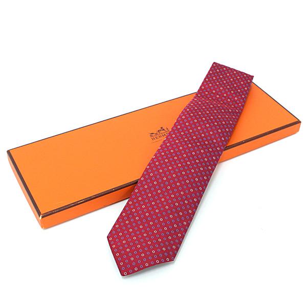 新しい出会いに! エルメスのネクタイはいかがでしょうか