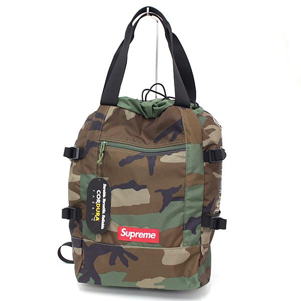 Supreme トート バックパック 多機能な2WAYバッグです