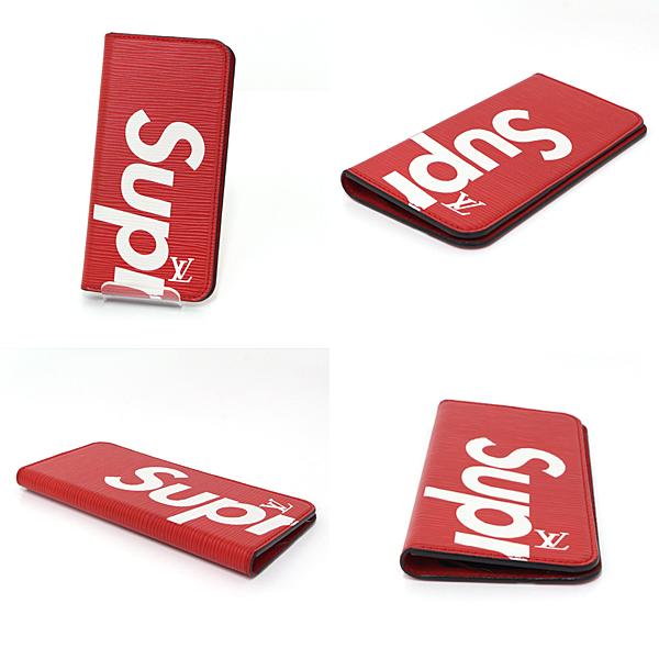 Louis Vuittonとシュプリームがコラボして作られた、iPhone 7+ 8+で使用可能のスマホカバー♬