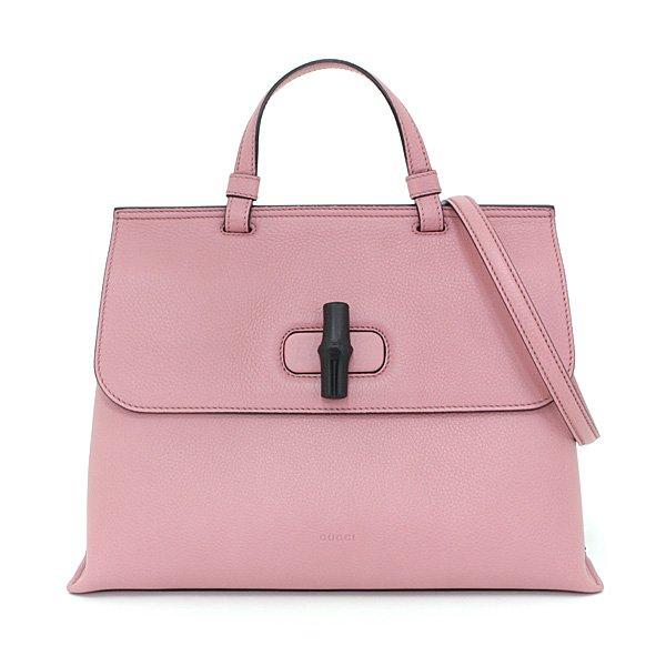 グッチを象徴する「バンブー」を使った《バンブー デイリー ミディアム ハンドバッグ》 入荷致しました!