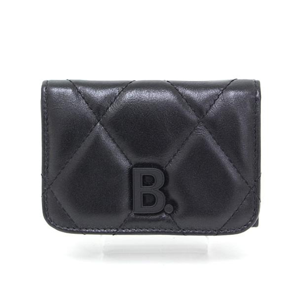 ミニ財布といえばBALENCIAGA! TOUCH MINI ミニウォレット ブラック 入荷しています♪