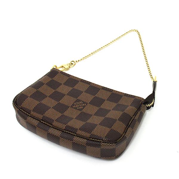 ポーチ バッグinバッグ お財布 様々な使い方を楽しめる♬ Louis Vuitton ミニ・ポシェット・アクセソワール N58009 のご紹介です。