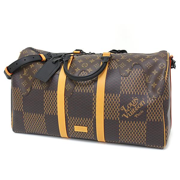 もうすぐバレンタインデー(^^♪ とろけるチョコレートみたいなヴィトンのボストンバッグはいかが?