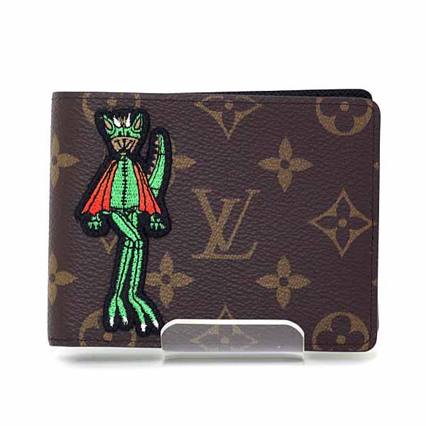 ヴァージル・アブローが2021春夏メンズ・ファッションショーのためにデザインしたキャラクターをあしらった Louis Vuitton ポルトフォイユ・スレンダー NM のご紹介です。