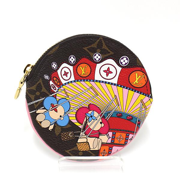 ルイ・ヴィトンのマスコット「ヴィヴィエンヌ」のイラストが愛らしい♬日本限定のレアなコインケースです。