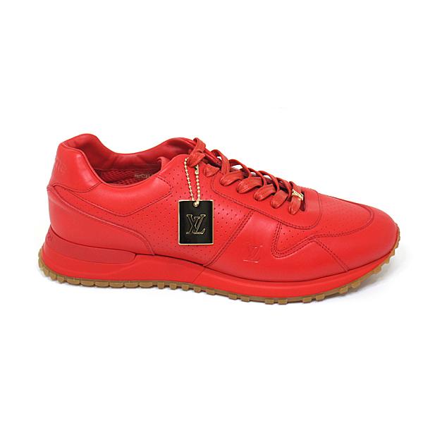 ルイ・ヴィトンを象徴する「ランアウェイ・ライン スニーカー」×シュプリームのコラボスニーカー♬赤or黒、どちらがお好みですか?