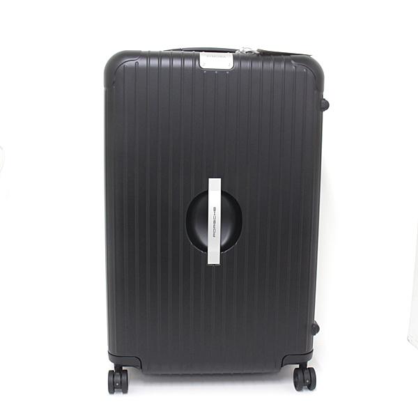 次の海外旅行には新しいスーツケースで! リモワ×ポルシェ スーツケース PTS マルチホイール 2.0XXL 80L マットブラック 新品同様