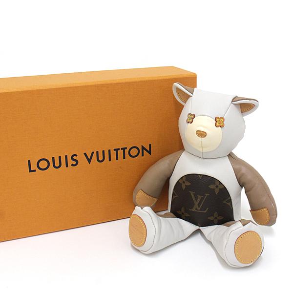 キュートで可愛らしいLouis Vuitton ドゥドゥルイ 限定テディベア 。お部屋のインテリアにいかがですか?