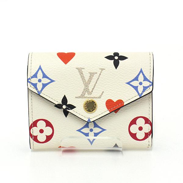 トランプカードから着想を得たポップなカラーのコンパクトなお財布 Louis Vuitton ポルトフォイユ・ゾエ M80278 のご紹介です♬