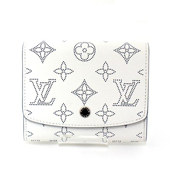 ミシン目で表現されたモノグラムがとても斬新♬マヒナ・レザーを使用したLouis Vuittonのコンパクトウォレットのご紹介です。