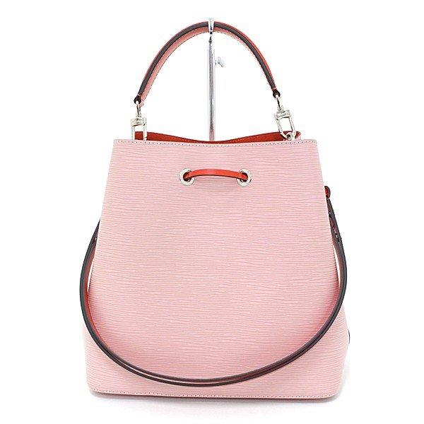 春にピッタリ!桜カラーのLouis Vuitton ネオノエ エピ ローズバレリーヌ M54370 バケットバッグ ハンドバッグ クロスボディ 新品同様 はいかがですか?