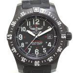BREITLING ブライトリング メンズ腕時計 コルトスカイレーサー X74320 ブラック(黒)文字盤 クォーツ【中古】