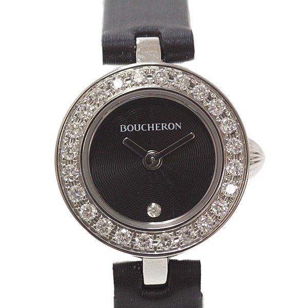 世界的に有名な老舗5大宝飾ブランドの一つ ブシュロンのレディース腕時計 入荷致しました!