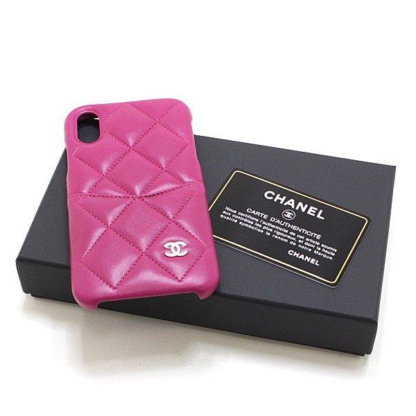 毎日手にする物だからこそ こだわりたい CHANEL マトラッセ iphoneX Xsケース のご紹介です。
