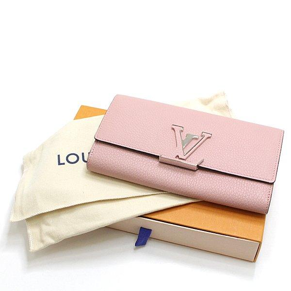 ルイヴィトン ポルトフォイユ・カプシーヌ 二つ折り長財布 のご紹介です。