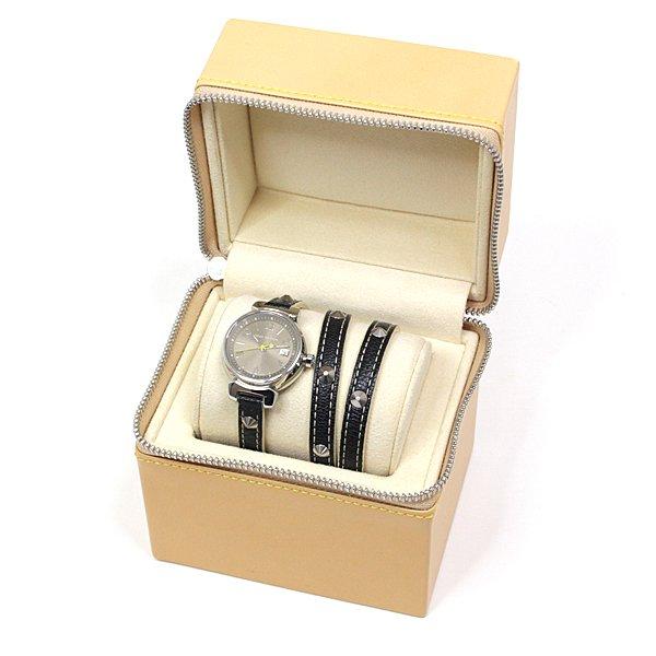アクセサリー感覚で着用可能なルイヴィトン レディース腕時計 タンブール トリプルコイルド はいかがですか?