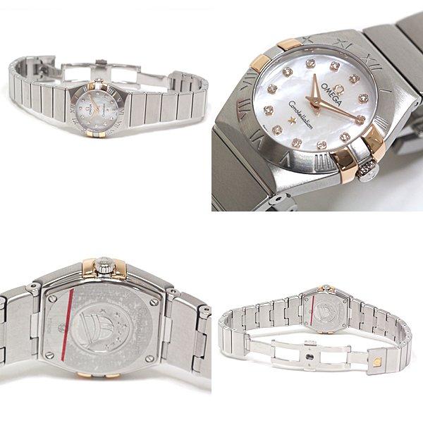 大変人気のある OMEGA オメガ レディース腕時計 コンステレーション ブラッシュクォーツ 入荷致しました!