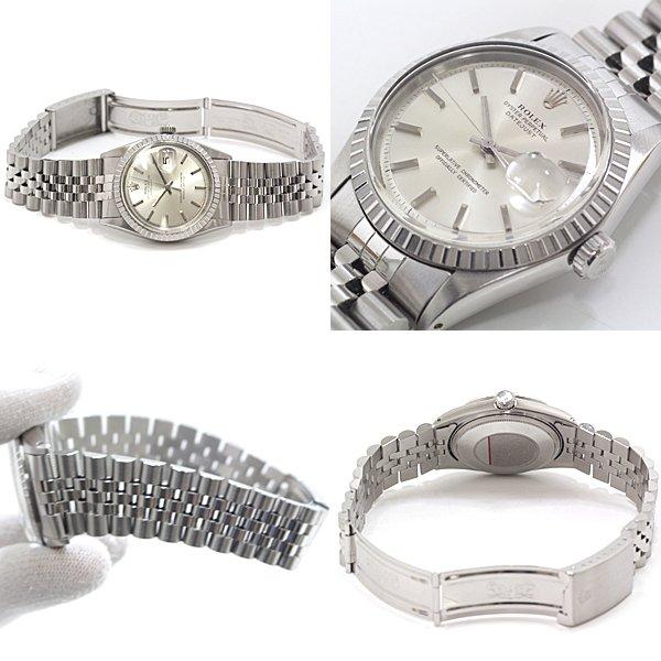 アンティークの風格漂う ロレックス メンズ腕時計 アンティーク デイトジャスト 1601/3 のご紹介です♬