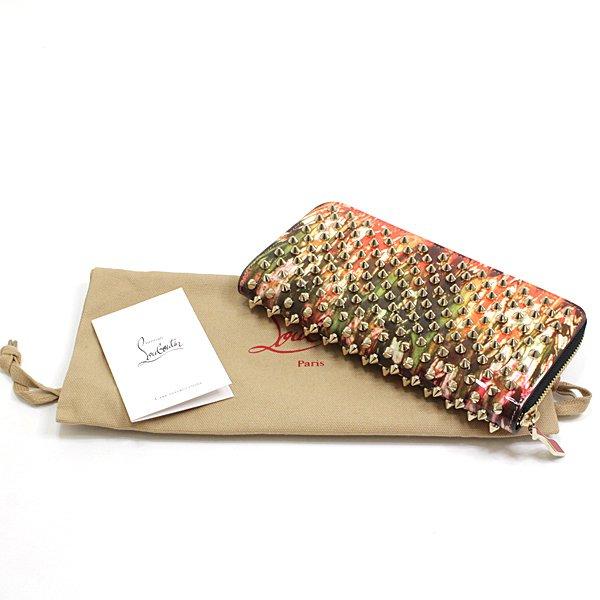 エキゾチックなプリントと個性的なデザインのクリスチャンルブタン ラウンドファスナー長財布 入荷致しました!