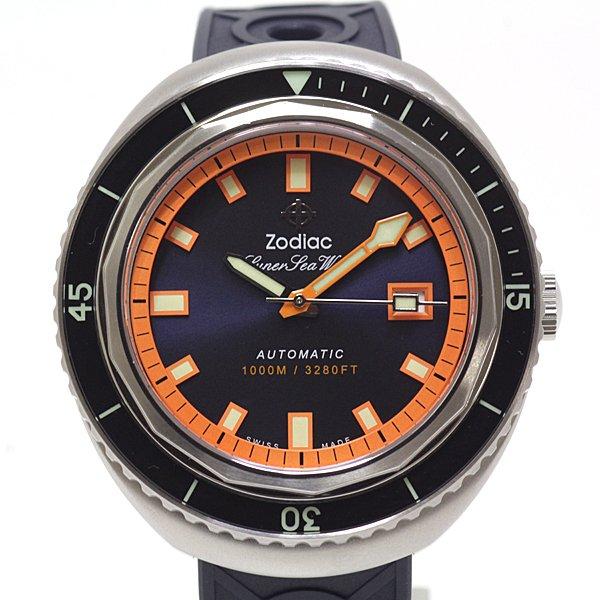 ダイバーズウオッチをいち早く開発した時計ブランド ゾディアックのメンズ時計 のご紹介です。
