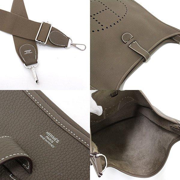 エレガントで高級感抜群の斜め掛けショルダーバッグ Hermèsエブリン3GMのご紹介です。