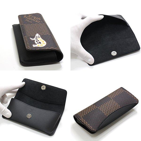 NIGO®とLouis Vuittonのコラボ商品  エテュイ・リュネット ウッディー メガネケース のご紹介です♬