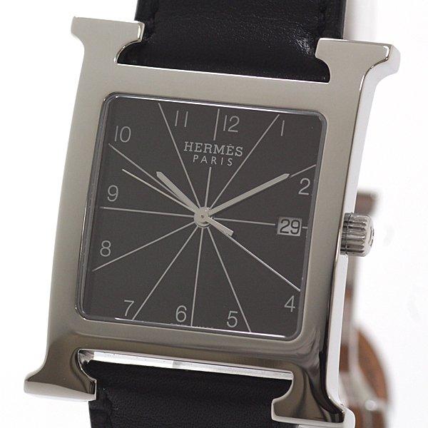 エルメスの気品あふれる大人の腕時計 HERMES メンズ腕時計 Hウォッチ HH1.810 のご紹介です。