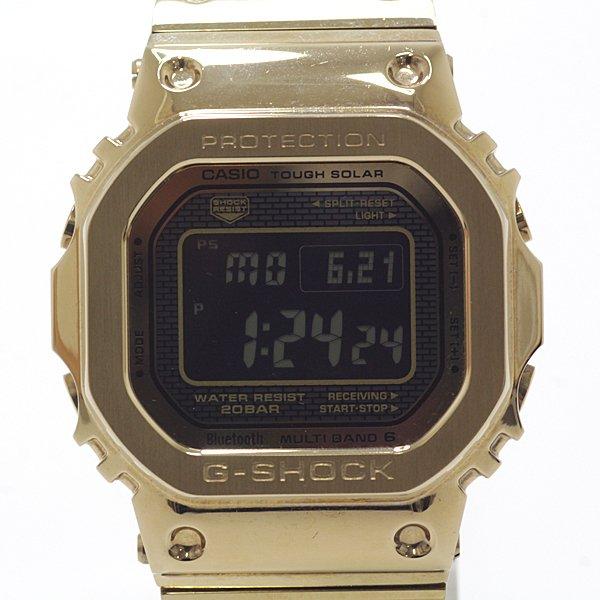 レトロでポップなデザインが人気!カシオ メンズ腕時計 G-SHOCK スマートフォンリンク フルメタル ソーラー電波時計のご紹介です。