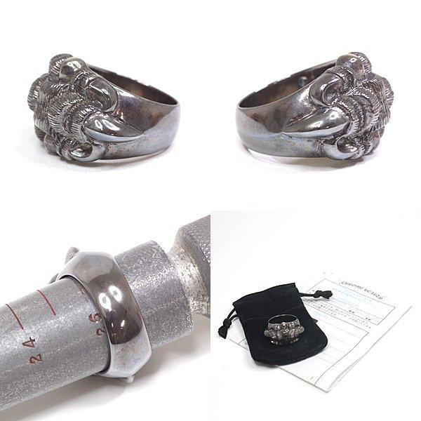 クロムハーツのアイテムのなかでもレアな「クローモチーフ」。空の王者「鷹」の爪をデザインした個性が光る逸品です!